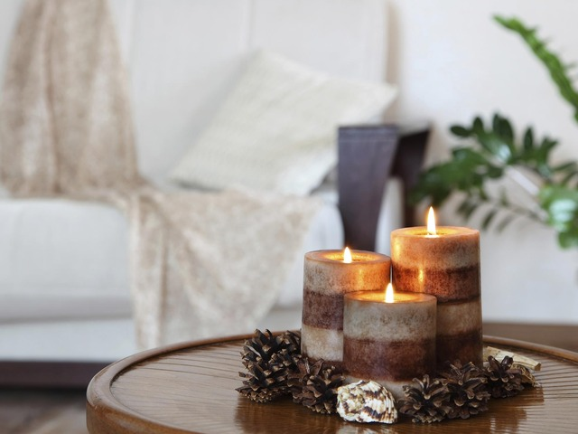 The Use of Candles at Home